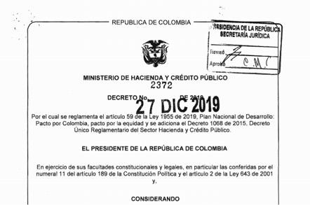 Diez años para homologar, es lo que se desprende del documento publicado ayer por MinHacienda