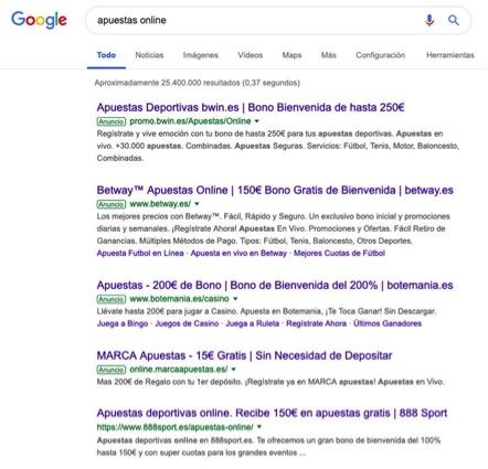 """Google """"complice"""" del juego Online"""